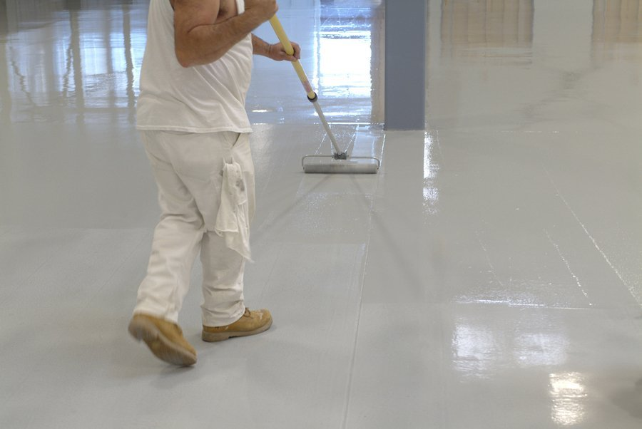 Epoxy Flooring Louisville - Rollpaint