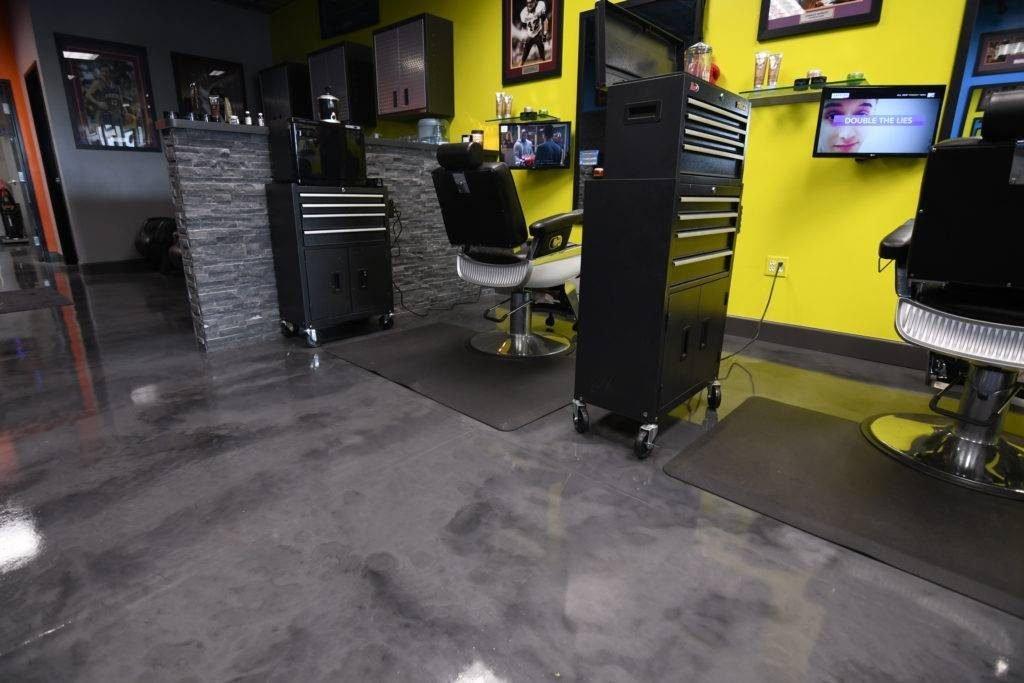 Epoxy Flooring Louisville - Metallic Epoxy Floor 1
